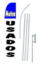 Autos Usados 15' COMPLETE SWOOPER FLAG STARTER KIT Bow Feather