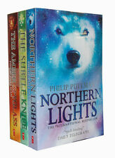 Philip Pullman His Dark Materials Collection 3 books Subtle Knife Golden Compass