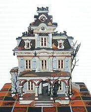 Grimsley Manor, Dept 56 Halloween Houses 56.55004