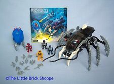 Lego Bionicle 8925 BARRAKI DEEPSEA PATROL - Incomplete set with instructions