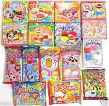 16Pcs Bundle Popin Cookin Happy Kitchen Kracie Heart Japanese DIY Candy Kits ❤