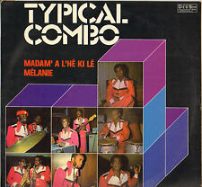 "TYPICAL COMBO ""MADAME A L'HE KI LE"" BIGUINE LP 1978 DEBS HDD 623"