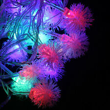 Christmas Holiday Lighting 10M LED Edelweiss Fairy String party Decoration