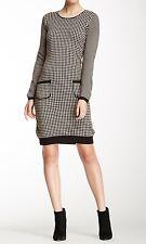 """Nine West Dress Sz S Grey Pearl Black """"Sweaters"""" Casual Business Wear Sweater"""