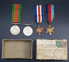 WW2 Medal Group inc France & Germany Star, 1939 -1945 Star to Somerset Light Inf