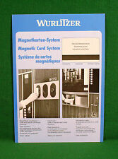 Original Wurlitzer Magnetic Card System Brochure
