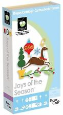 Cricut Joys Of The Season Cartridge Use w/ Explore Expression & All Machines