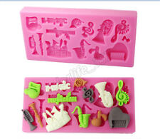 Musical Silicone Chocolate Mold Fondant Cake Decorating Mould Candy Pastry Tools