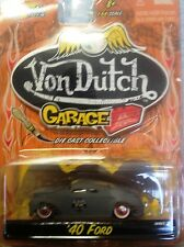 Jada Toys  Von Dutch Garage  '40 Ford Sedan   1:64 scale NOC (5)