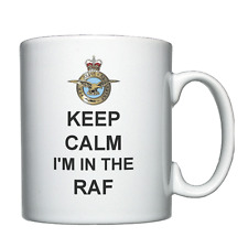 Keep Calm I'm In The RAF - Personalised Mug - Royal Air Force