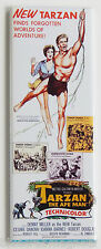 Tarzan the Ape Man (1959) FRIDGE MAGNET (1.5 x 4.5 inches) insert movie poster