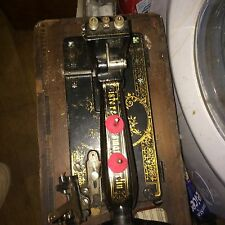 Vintage Antique  German   Sewing Machine display rare