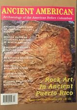 Ancient American Rock Art In Puerto Rico Culture Vol 18 #104 2014 FREE SHIPPING!