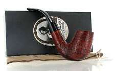 Pipe Ser Jacopo della Gemma MODICA 08 Sandblasted Full Bent New Made in Italy