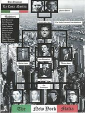 NEW YORK MAFIA 8X10 PHOTO MAFIA ORGANIZED CRIME MOBSTER MOB PICTURE