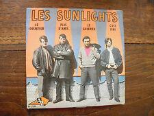 les sunlights - disque AZ EP 1034