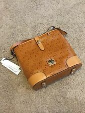 NWT Dooney Bourke Augusta National Golf Club, Rare, Crossbody Bucket, Tan