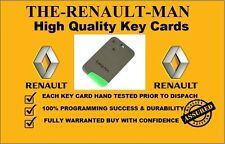 Renault Laguna & Espace 2 button remote key card new ready to program