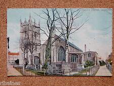 R&L Postcard: St Peter's (Peters) Church Wisbech 1906 Gardiner & Co