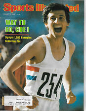 SPORTS ILLUSTRATED - FEATURES SEBASTIAN COE FROM AUGUST 11, 1980
