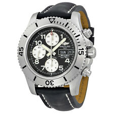 Breitling Mens Superocean Chronograph  Automatic Swiss Made Watch A13341C3/BD19
