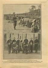 WWI Poilus Tranchée Couture Argonne/Frères Doyen Wattrelos War 1915 ILLUSTRATION