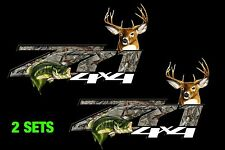 2 - Camo CHEVY Z71 4x4 OFF ROAD DECAL,Truck Z71 silverado chevrolet