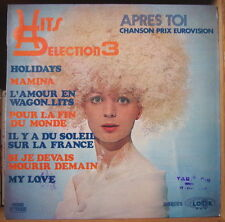THE BURLINGTON'S HITS SELECTION 3 CHEESECAKE COVER FRENCH LP