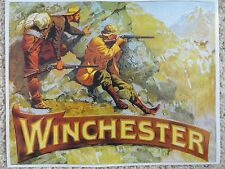 Winchester Repeating Arms. Co Advertising Poster,Frederic Remington artist