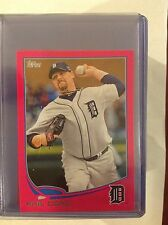 2013 topps online Exclusive mini Pink PHIL COKE #539 TIGERS 11/25 MADE