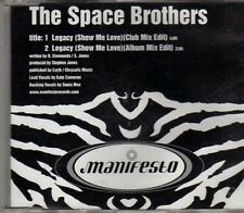 (CH34) The Space Brothers, Legacy (Show Me Love) - DJ CD