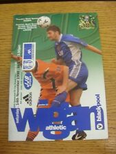 14/11/1998 Wigan Athletic v Blackpool [FA Cup]. Thanks for viewing this item, bu