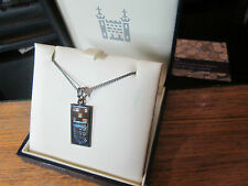 ROYAL MINT CLASSICS .925 STIRLING SILVER NECKLESS WITH FOOTBALL INGOT 3 LIONS