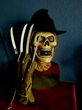 Freddy Krueger,Nightmare on elm street 1,lifesize,bust mask,Büsten Maske,Horror