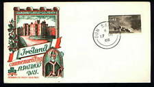 DUNSANY Castle St Patrick's Day Scarce Ireland Staehle Cachet FDC 1968 (IR111