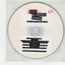 (FU122) Red Blooded Women, You Made Your Bed EP - 2008 DJ CD