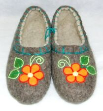 Valenki Traditional Russian Slippers Wool 100% Handmade Healthy Felt Shoes UK5.5