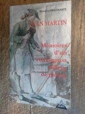 Jean Martin Mémoire d'un compagnon tailleur de pierre / Alexandre Grigoriantz