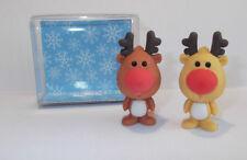 HBB Radiergummi Set Rentiere Weihnachten Radierer Mitgebsel Kindergeburtstag