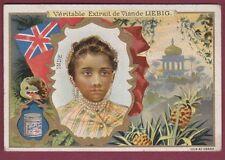 Chromo 250115 LIEBIG - Inde - ethnie drapeau perle