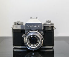 Vintage 1956 Zeiss Ikon Contaflex IV with a Zeiss Tessar 50mm f:2.8 lens