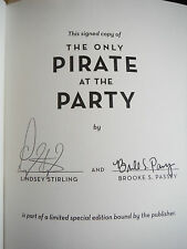 The Only Pirate at the Party Lindsey Stirling SIGNED 1st Edition