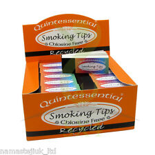 5 x Cigarette Filter Smoking Tips Roach Booklets Rolling Paper Quintessential