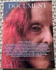 DOCUMENT Journal #8 2016 GRACE CODDINGTON William Gibson MISSY ELLIOT Trump