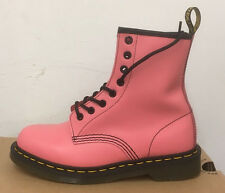 DR. MARTENS 1460  ACID PINK SMOOTH    LEATHER  BOOTS SIZE UK 8