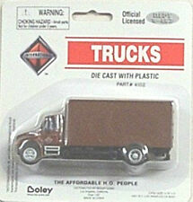Boley HO 1/87 Die Cast International 4300 Drywall Van Brown Delivery Truck 4102
