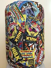 MARVEL COMIC BOOK HULK 5 GALLON WATER COOLER BOTTLE COVER KITCHEN DECORATION