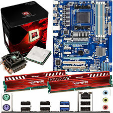 AMD X8 Core FX-8320 3.5Ghz & GIGABYTE 970A-DS3 & 8GB DDR3 1600 Viper Venom Red
