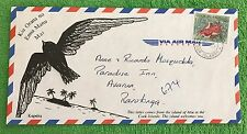 RARE ATIU COOK ISLANDS VIA AIR MAIL COVER & FREE GIFT WITH ORDER!