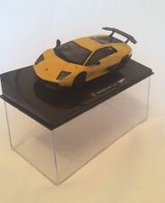 Hot Wheels Elite - 1.43 Scale Lamborghini Murcielago LP 670-4 SV in Yellow.